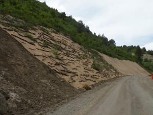 Erosion Control Before