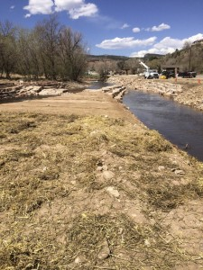Front Range 2013 flood related project, complete, awaiting spring runoff 2015